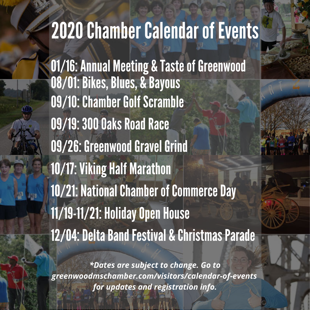 Greenwood Ms Christmas Parade 2020 Calendar of Events | Greenwood, MS Chamber of Commerce