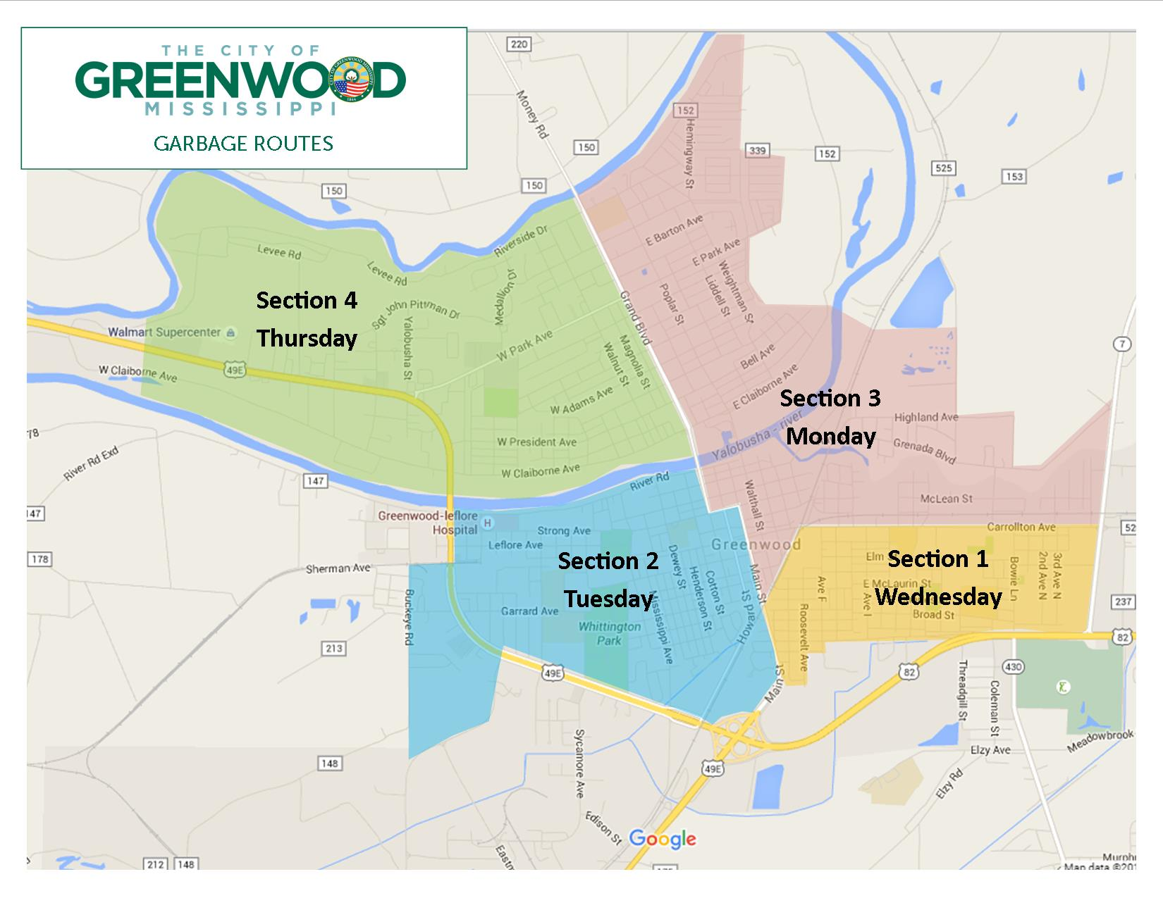 City of Greenwood, Mississippi | Garbage and Trash