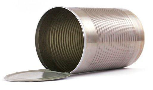 Steel can