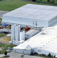 Aerial View of warehouse